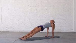 Upward Facing Plank