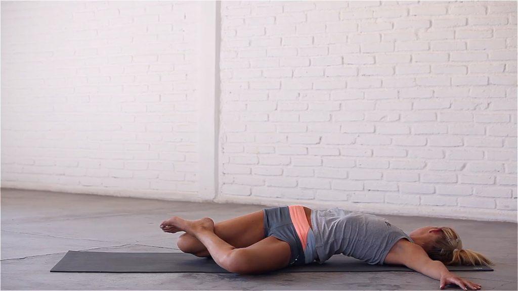 Reclining Knee-Down Twist