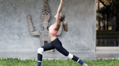 Yoga High Lunge Hip Strength