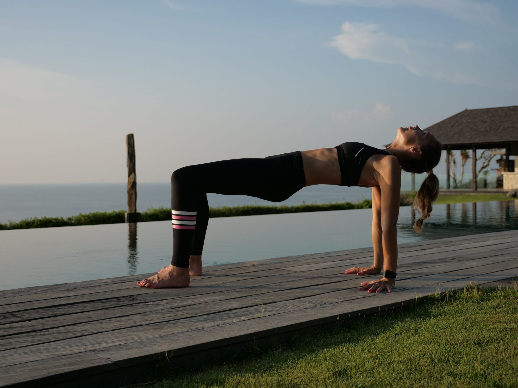 Crab Pose For Pain In Between The Shoulder Blades