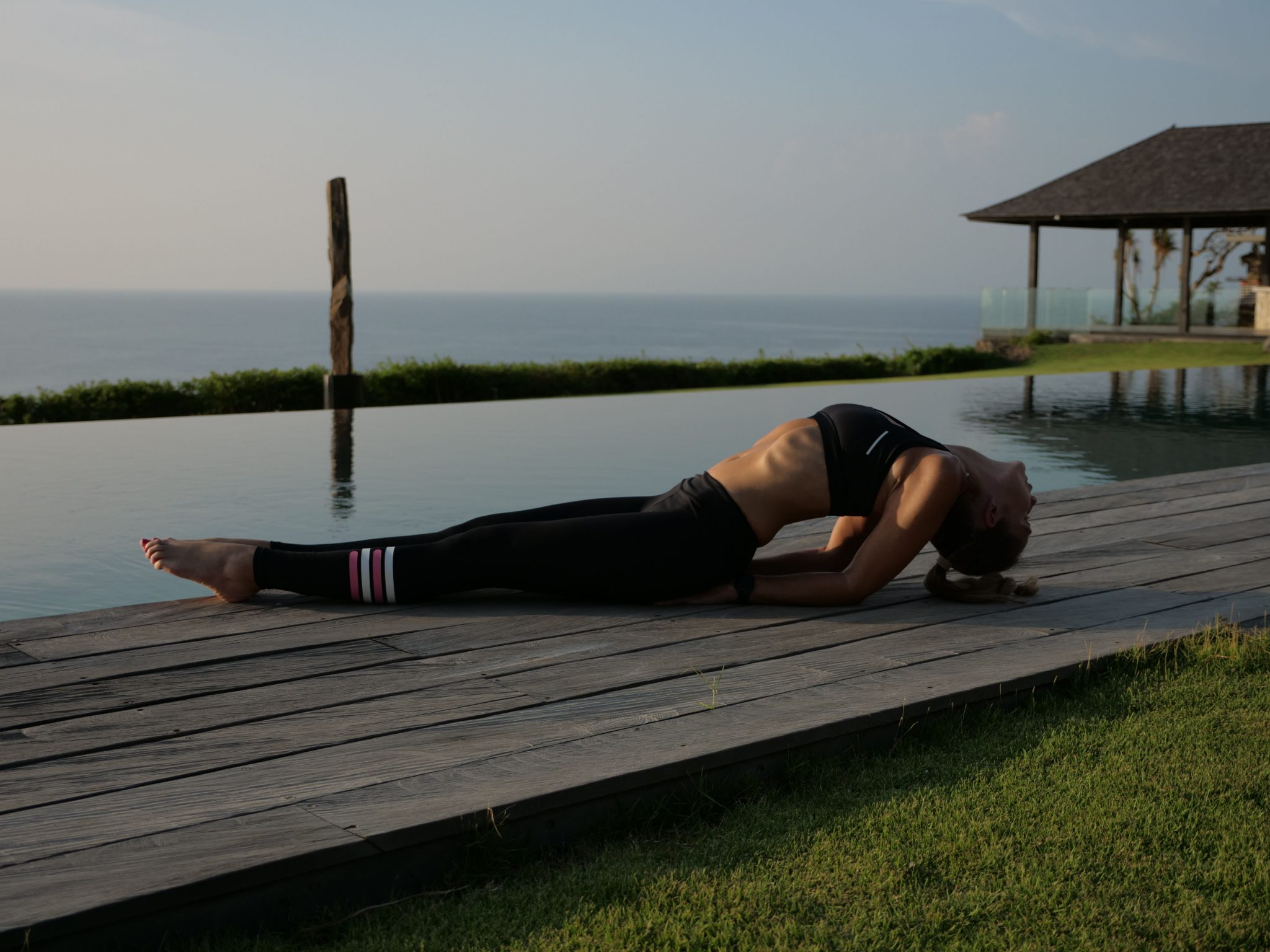 Fish Pose For Pain In Between The Shoulder Blades