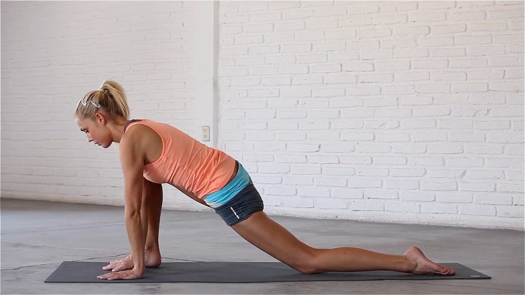 Lizard is a deep hip opener, especially for the hip flexors.