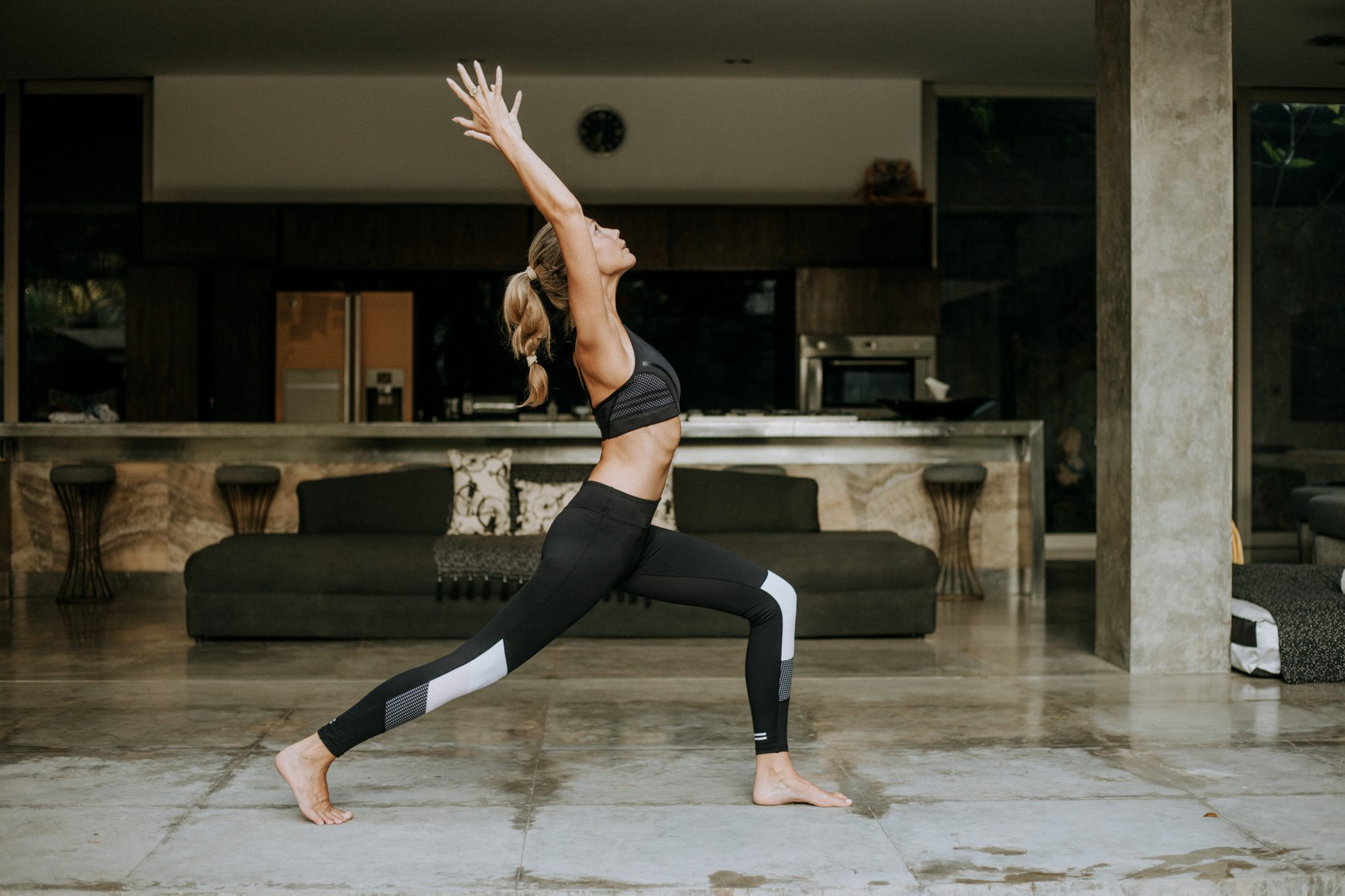 High Lunge Pose For Strength