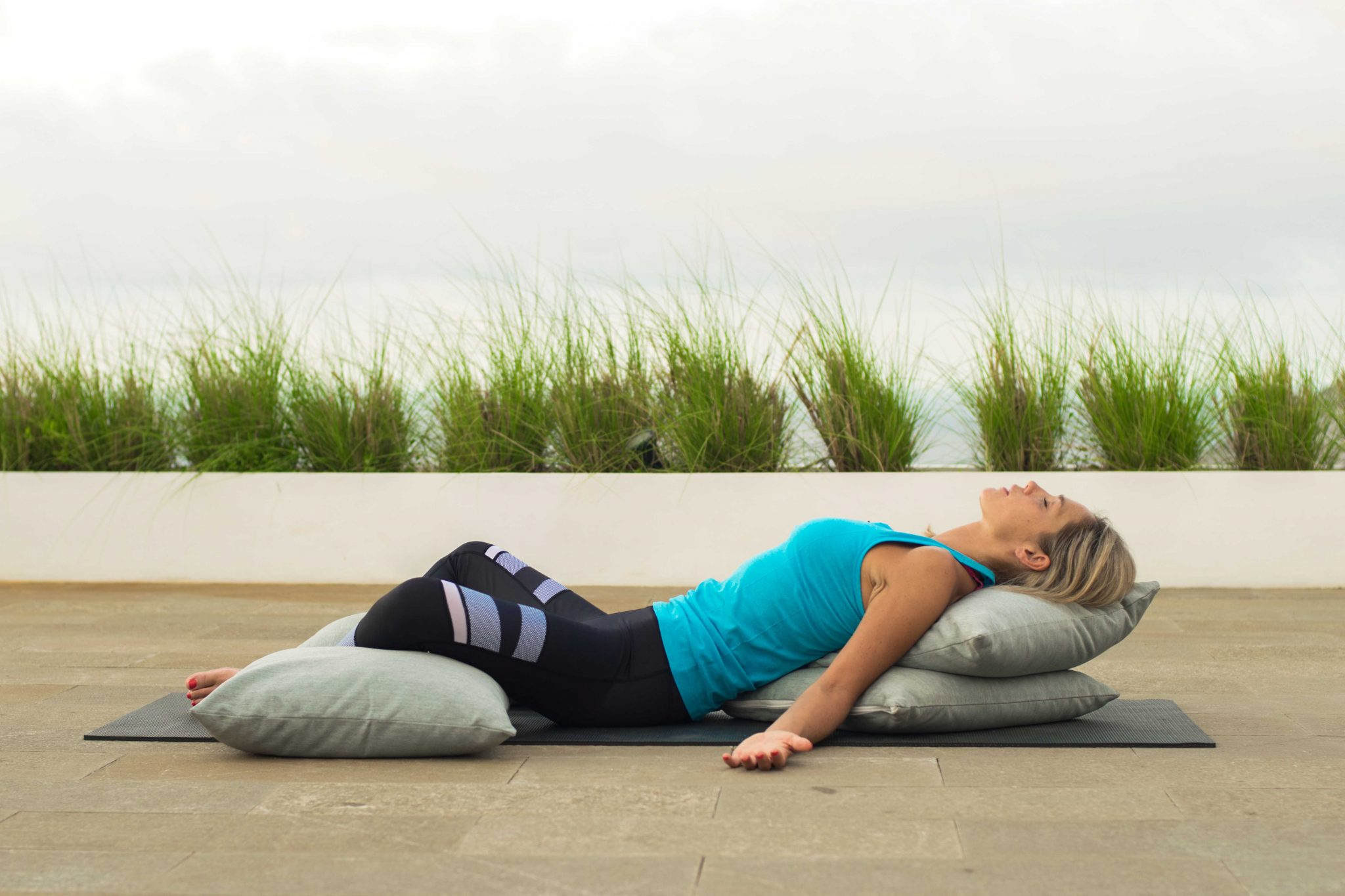 Supported Reclining Butterfly Pose