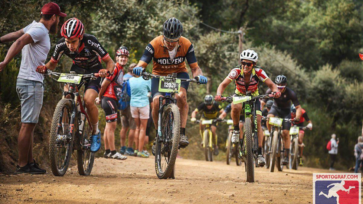 Tim Skilton, racing MTB in Southern Spain