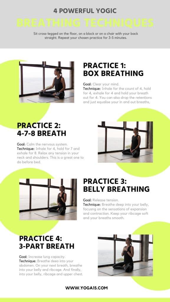 4 Powerful Yogic Breathing Exercises