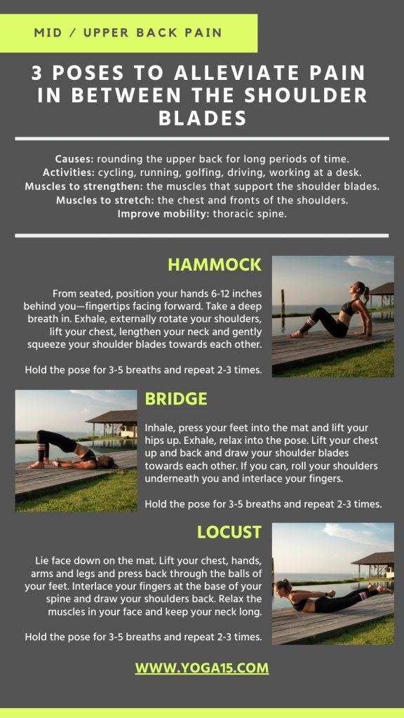 Upper Back Pain Poses