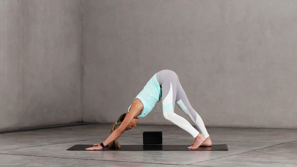 Downward Dog improves hamstring flexibility