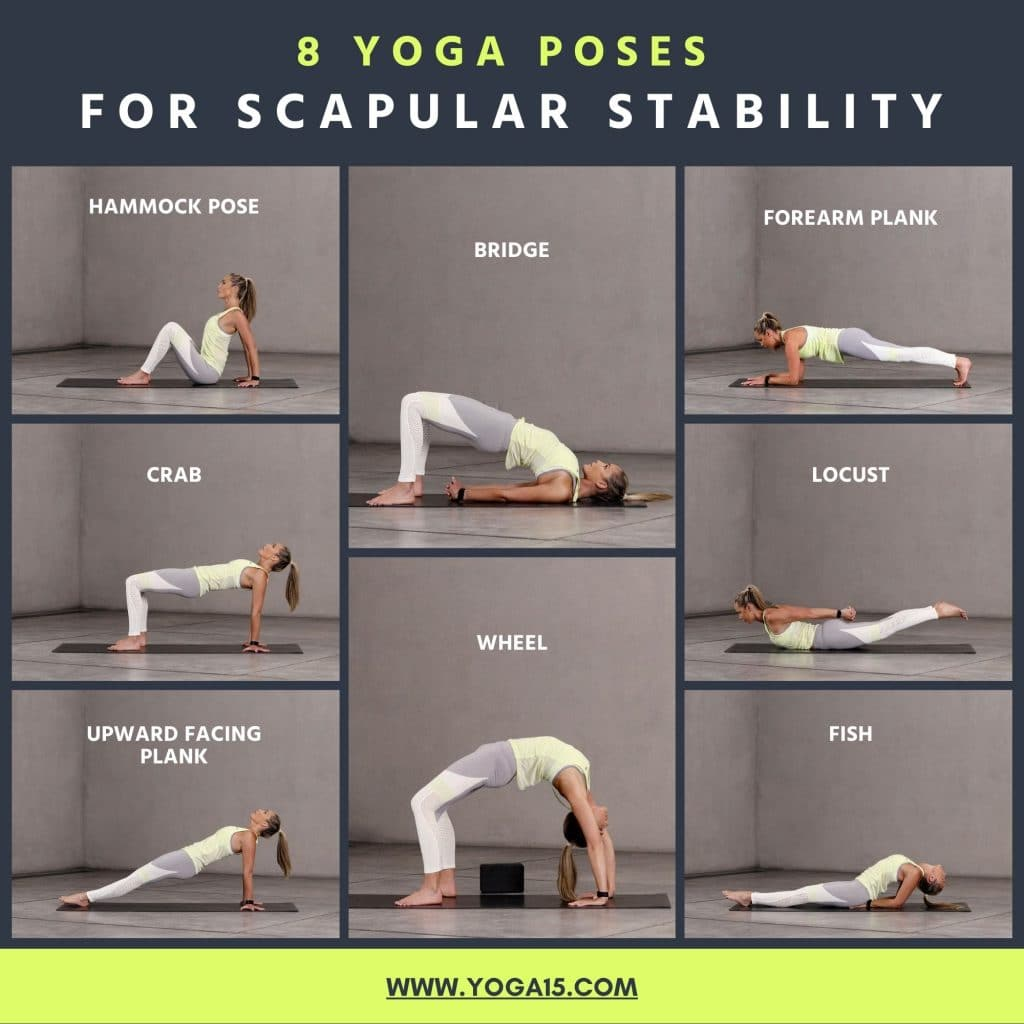 8 Scapular Stability Yoga Poses