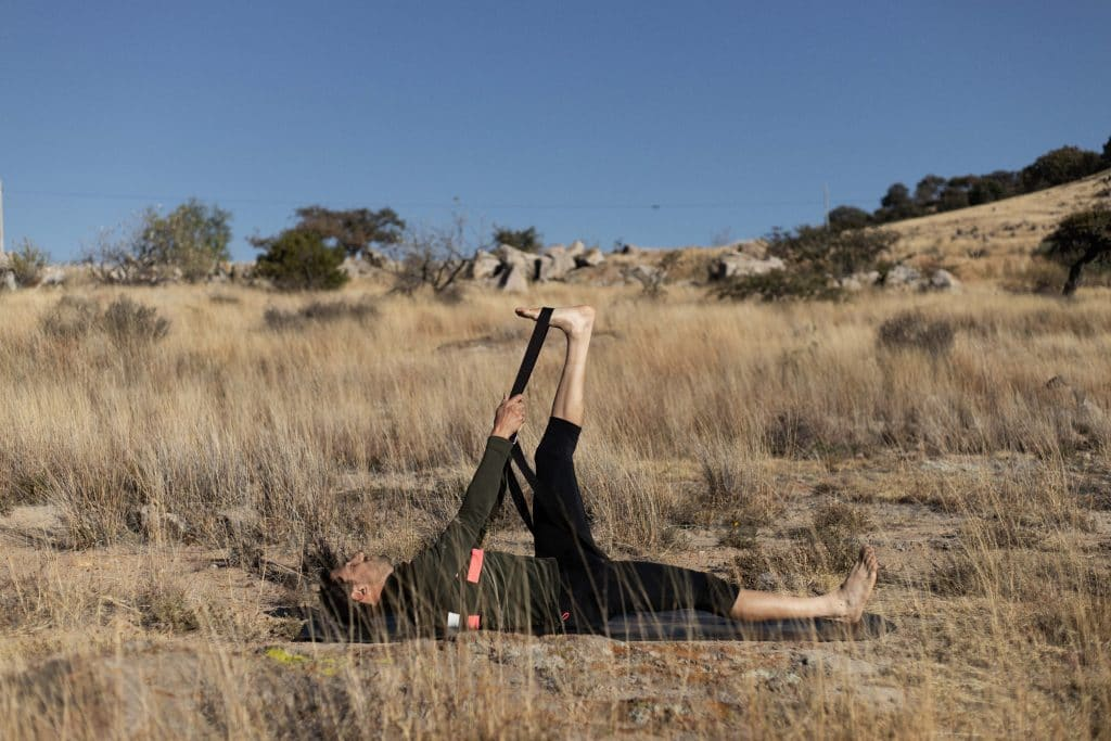 Yoga For Cyclists—Hamstring Stretch