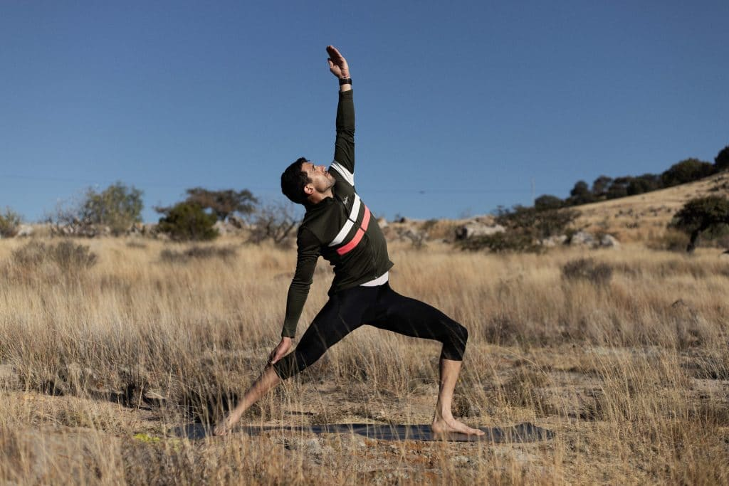 Yoga For Cyclists—Reverse Warrior